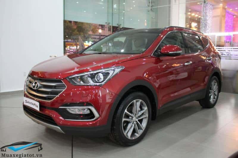 Xe 7 chỗ máy dầu Hyundai Santafe 2018