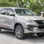 Xe 7 chỗ máy dầu Toyota Fortuner 2018