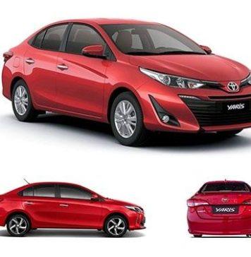 xe ô tô dành cho nữa giới Toyota Yaris